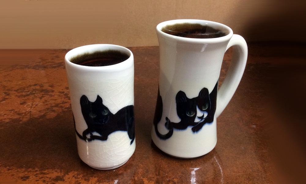 Black Cat Mug & Tumbler